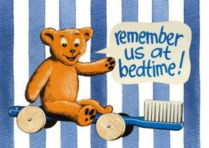 bedtime brushing