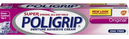 poligrip denture cream