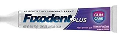 fixodent gum care
