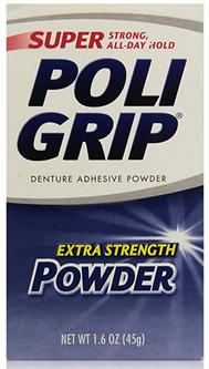 poligrip powder adhesive