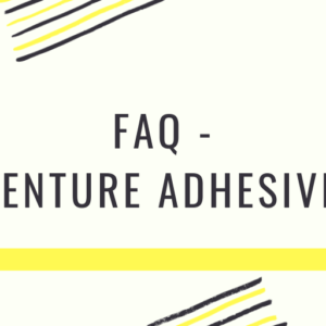 FAQ-Dentue Adhesives